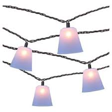 Target Outdoor Lights String 10 Count Decorative String Lights Silicone Cone Cover