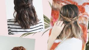 hairstyles with one elastic 10 quick and easy hairstyles for updo newbies verily