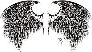 angel daemon wings by swarzeztier on deviantart