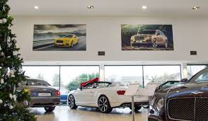 bentley showroom h r owen bentley wall display boards projects