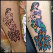 50 pin up mermaid tattoos ideas