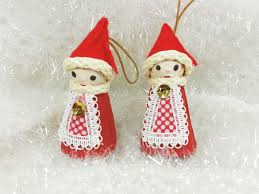 Mr Christmas Ornament - mr christmas santa claus ornaments 1969 red and white santa