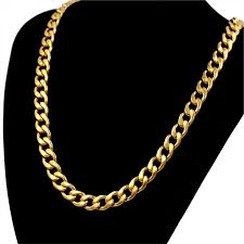 chain set necklace bracelet images Thick gold chain set wholesale gold color men jewelry necklace jpg