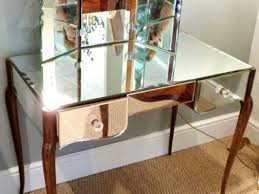 Vanity Table And Bench Set Bedroom Sets Vanity Table With Lighted Mirror And Bench Mirrored