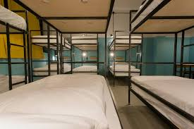 Dormitory Bunk Beds Modern Furniture Bunk Beds In New Style Hostel With Dormitory