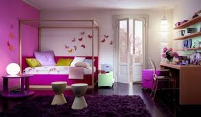 bedroom luxurious tufted mini bed colored in peach installed to girls bedroom area rugs and how to choose the right ones chic butterfly wall decal