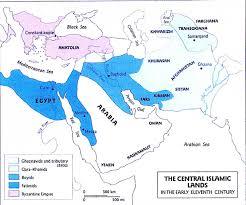 Islam World Map by Islamic World