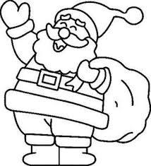 dibujos navideñas para colorear imagen para dibujar y colorear de papa noel pinteres