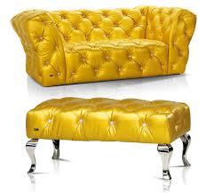 yellow leather sofa sanblasferry