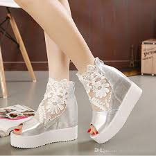 silver wedding shoes wedges silver wedge shoes for wedding wedding corners