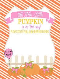 little pumpkin baby shower invitations let u0027s do it cakraest