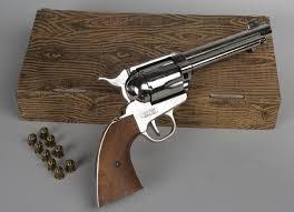 stunt prop gun revolver used in western films movies w blanks