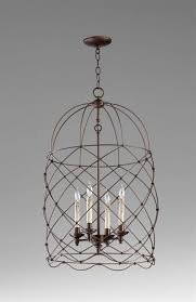 Wire Chandeliers Beautiful Wire Basket Chandelier At Crystal For Stylish House