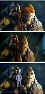 Lizard Toast Meme - tmnt trailer gives rise to the michaelangelo meme ohgizmo