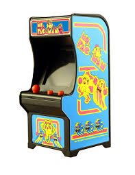 Ms Pacman Cabinet Miniature Iconic Arcade Games Are Now Available From Super Impulse