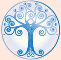 tree of celtic symbols calling