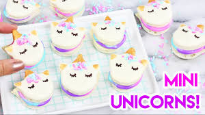 How To Be A Unicorn For Halloween by How To Make Mini Unicorn Macarons Youtube