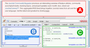 how to use firebug in firefox zootemplate