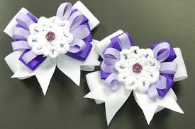 how do you make hair bows hair bow tutorial with white lace flower center bowdabra