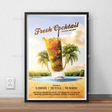 fresh cocktail party flyer by bornx graphicriver