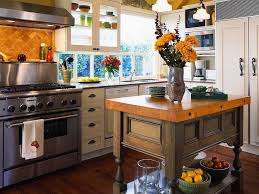 mediterranean kitchen with wooden furniture with white drawers and