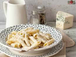 sos cuisine blue cheese gorgonzola penne a soscuisine recipe