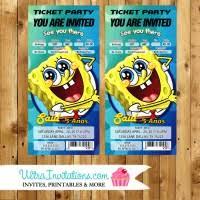 spongebob birthday invites dedicated customer service on all orders