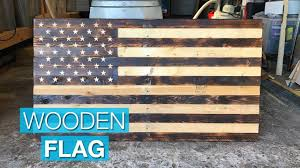 Pallet American Flag Making A Rustic American Flag From Pallet Wood Youtube