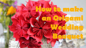 how to make an origami flower bouquet u2013 youtube for origami