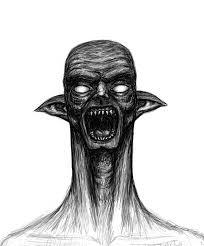 monster sketch by greentunic on deviantart