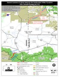 Colorado Hunting Units Map by Southwest Region Arizona Es Field Office