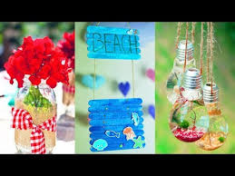diy room decor 6 easy crafts ideas for summer home youtube