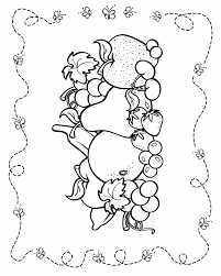 healthy kids coloring pages 440704
