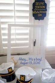 props for selfie station sailor hats nautical baby shower