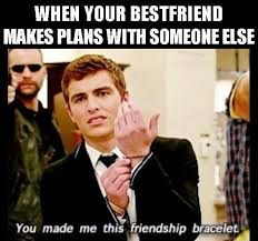 21 Jump Street Memes - when your best friend makes plans with someone else lol dave