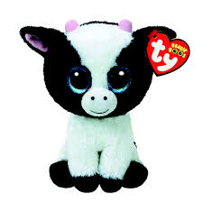 ty beanie boos small butter the cow plush toy claire u0027s us