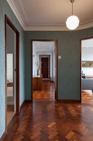 Retro Flooring by 3 Dazzling Apartments With Retro Interiors In 1940s Porto Building