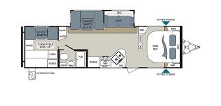 aerolite 315bhss floorplan details someday camper pinterest