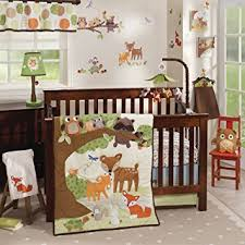 Crib Bedding Sets Woodland Tales 4 Baby Crib Bedding Set By Lambs