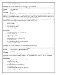 Reference Page On Resume Sap Bi Resume 5 Years Experience Eliolera Com