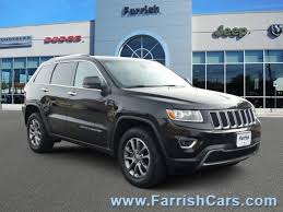 jeep grand cherokee limited 2014 certified pre owned 2014 jeep grand cherokee for sale in fairfax va