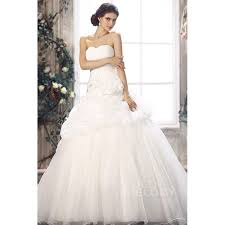 chapel wedding dresses princess dropped waist chapel organza
