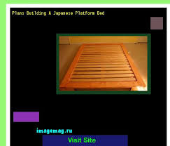 Japanese Platform Bed Building Plans by