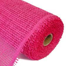 deco paper mesh woven paper mesh fuchsia 10