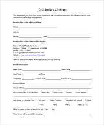 event contract templates example event photography contract pdf