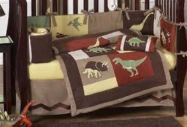 amazon com sweet jojo designs 9 piece dinosaur baby boy dino