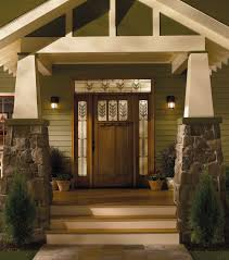 Front Entry Way by Front Doors With Side Lights And Transom Fiberglass Door