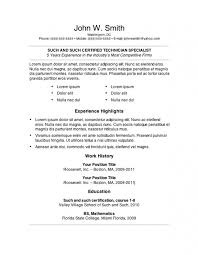 The Standard Resume Format For by Sample Copy Of A Resume Resume Copy Resume Copy Copy Of Resume