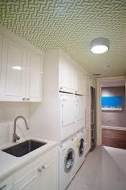 Corian Sea Salt Laundry Room With Corian Countertops Design Ideas