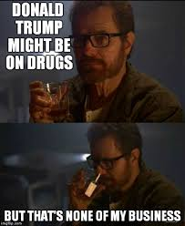 walter white weighs in on politics imgflip